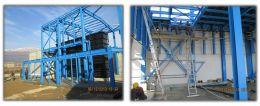 Проектиране, доставка и монтаж на стоманени конструкции - Метална конструкция - Пречиствателна станция за промишлени и битови отпадни води -,,Аурубис България,, АД - гр. Пирдоп - Олопласт груп - Пирдоп